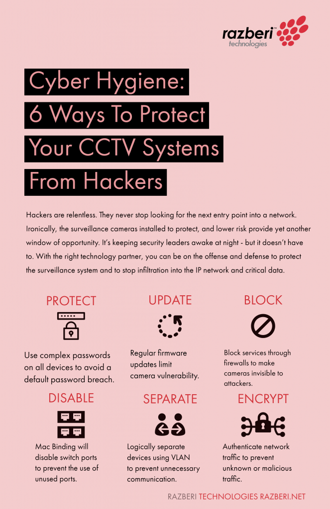 6 ways to protect your cctv systems from hackers